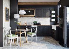New style retro vintage dream kitchens Ideas Modern Interior, Sweet Home, Kitchen Inspirations, Furniture, Kitchen Living, Kitchen Desing, Home Decor, Kitchen Wet Bar, Kitchen Cabinets