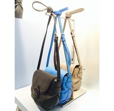 Would love to have one in blue! Marc by marc jacobs Fall 2014. http://m.marcjacobs.com/marc-by-marc-jacobs/womens/bags-and-wallets/fall-14-bags/m0003374/half-pipe-crossbody?variantId=81935
