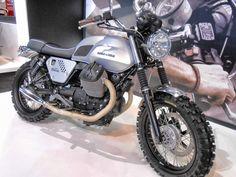 MOTOCICLETTE, MEMORABILIA ED ALTRO ANCORA: Moto Guzzi V7 Scrambler
