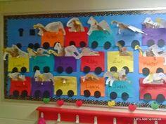 Preschool Crafts - Zoo Week/ Circus Graduation Wall