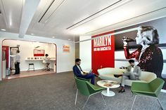 """Sparkling"" smart working: HQ Coca Cola Italia. 