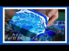 HOLY COW we love the Ocean Pours! This set turned out so good that we did 9 more! FOR REALS! Acrylic Pouring Techniques, Acrylic Pouring Art, Acrylic Resin, Acrylic Art, Paint Techniques, Sketch Painting, Pour Painting, Diy Painting, Alcohol Ink Glass