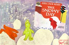The Snowy Day Art Project
