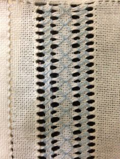 socorro matesanz's media content and analytics. Embroidery Needles, Hand Embroidery Stitches, Embroidery Designs, Drawn Thread, Thread Work, Hardanger Embroidery, Smocking, Needlepoint, Needlework