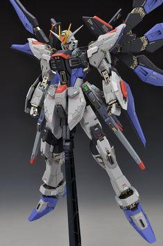 MSB 1/100 Strike Freedom Gundam -   Modeled by ALWEN99