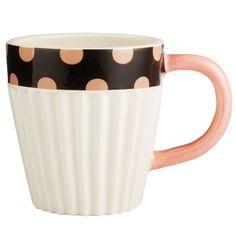 Jessie Steele Cupcake Polka Dot Mug