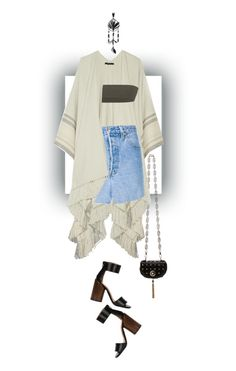 """""""chill"""" by nandusho ❤ liked on Polyvore featuring Versace, The Row, Givenchy, Vetements and Valentino"""