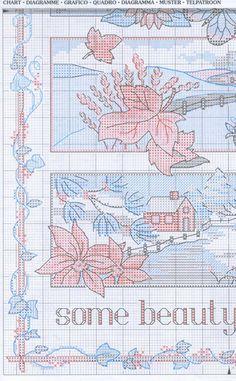 Schema punto croce 4 Stagioni