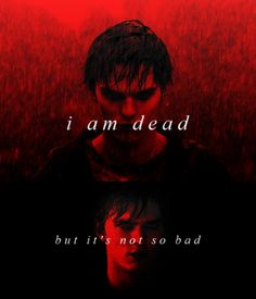 I am dead, but it's not so bad. #warmbodies