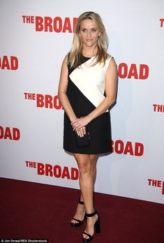 5d4c12ea065c Reese Witherspoon cuts a stylish figure in mini at museum launch