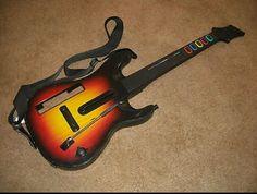 Red Octane SUNBURST Guitar Hero World Tour Controller For Nintendo Wii 95455.805 in Video Games & Consoles   eBay
