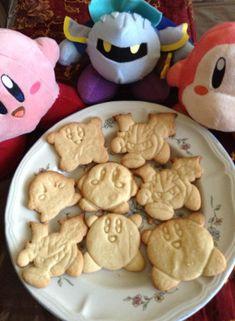 Kirby Cookies - Kirby, Meta Knight, Waddle Dee by DarkFatalKnight.deviantart.com on @deviantART