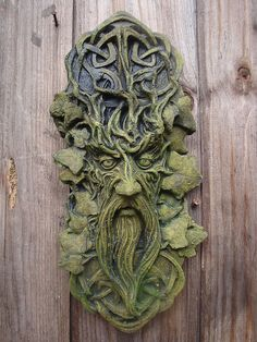 The green man is a classic character and this is an oak themed image with celtic style branch designs. Description from pinterest.com. I searched for this on bing.com/images