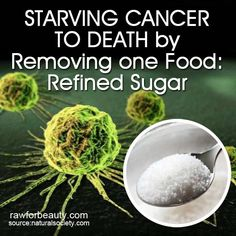 Starving Cancer to Death by Removing one Food: Refined Sugar - See more at: http://rawforbeauty.com/blog/starving-cancer-to-death-by-removing-one-food-refined-sugar.html#sthash.JN33aGqs.dpuf