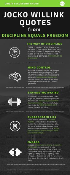 31 Phenomenal Jocko Willink Quotes from Discipline Equals Freedom. Get [Infographic] #infographic