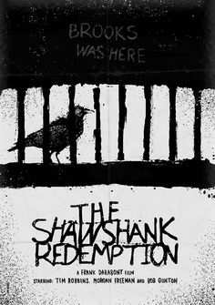 The Shawshank Redemption  Minimal Movie Poster by Daniel Norris