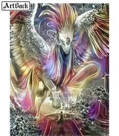 callm Peace Dove Full Drill 5D Diamond Rhinestone Crystal Painting Cross Stitch Kit Wall Art Decor Diamond Embroidery Painting Home Decor Gift A❤️ 5D DIY Diamond Painting