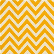 Riley Blake laminate fabric yellow zig-zag pattern - Laminates - Fabric. Seat cover?