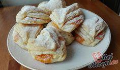 Křupavé babiččiny šátečky s džemem French Toast, Pizza, Breakfast, Cake, Sweet, Food, Decor, Hampers, Sweet Recipes