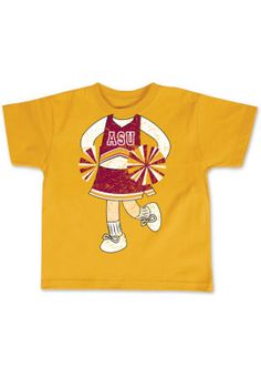 Cheerleader T-Shirt for the little ones $16