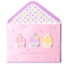 Baby Girl Cupcakes Price $7.95