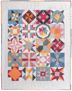 Meet the Vintage Quilt Revival Quilts: My Sampler Quilt