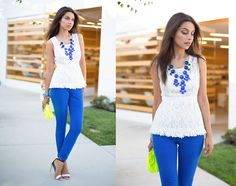 Bluer than Blue  (by Annabelle Fleur) http://lookbook.nu/look/3874458-Bluer-than-Blue