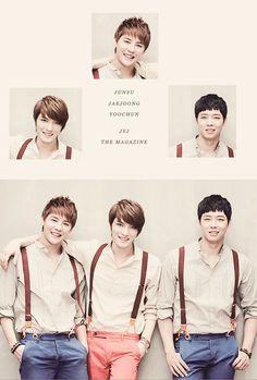 JYJ ♡ Yoochun/Junsu/Jaejoong
