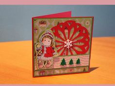 Christmas Card Magnolia