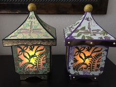Fire & Dragonfly Lantern from Dreaming Tree #svg #3dsvg #Dreaming Tree
