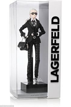 Hot item:Mattel's limited-edition Karl Lagerfeld Barbie hit Net-a-Porter early this morning, and by 5am the doll was sold out