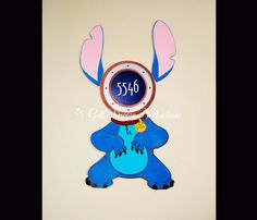 Stitch Magnet for Disney Cruise Door by GulfBreezeProduction