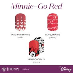 This initial series of wraps includes designs featuring three Disney characters — Disney Minnie Mouse, Disney Princess Aurora, and Disney Princess Ariel. It also includes a variety of designs and finishes to suit any style. That's not all, because more designs and characters will be debuted over time!