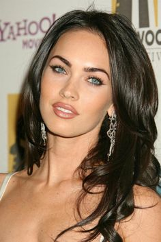 Megan Fox makeup. This woman is always flawless. Love her style.