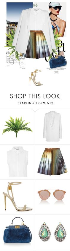 """""""Should I stay"""" by ionara ❤ liked on Polyvore featuring Givenchy, Glamorous, Marco de Vincenzo, Tom Ford, Christian Dior and Fendi"""