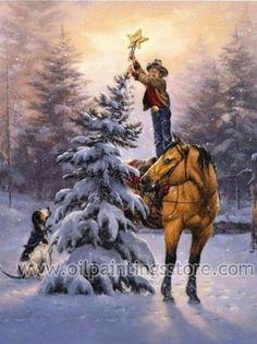 Christmas Tree #oilpainting