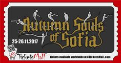 Only until April 1st you can get your ticket to the third edition of the Autumn Souls of Sofia Festival for 40 BGN (approx. 20 EUR)! Confirmed bands so far are Illumenium, MartYriuM, Khaospath, Saille, Imperium Dekadenz, Woebegone Obscured, Nocturnal Depression и Fausttophel. More to be announced soon! #Tickets #Билети https://www.eticketsmall.com/product_info.php?products_id=723