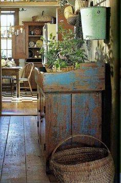 primitive homes daily crossword Primitive Homes, Country Primitive, Primitive Kitchen, Primitive Antiques, Primitive Decor, Country Kitchen, Country Farmhouse, Primitive Bedroom, French Farmhouse Kitchens