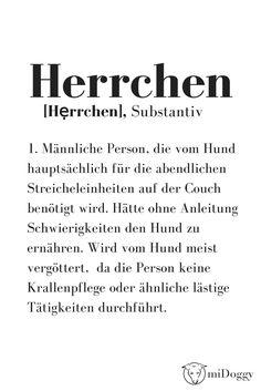 Herrchen | Definition | Hunde | Ideen | Informationen