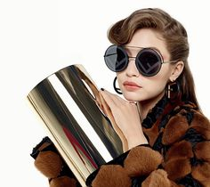 4ab51738d1d Fendi Fall Winter Advertising Campaign Featuring Gigi Hadid And Kendall  Jenner