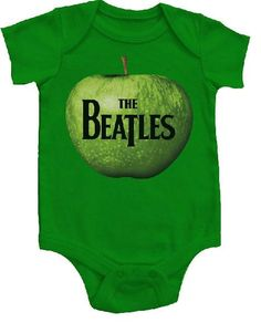 Beatles Onesie Baby Creeper Apple A Day | Beatles baby clothes
