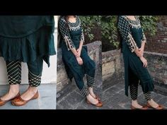 Hello everyone welcome back to our channel Kataria sisters ,,today in this video we have showed a very latest party wear pant mohri design making. Sleeves Designs For Dresses, Dress Neck Designs, Blouse Designs, Frock Design, Ladies Dress Design, Diy Clothes Tops, Pakistani Dresses Casual, Formal Dresses, Baby Dress Patterns