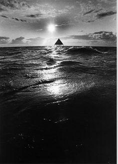 Foto der Pyramide aus der Ferne