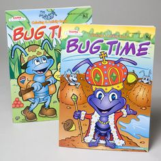 Coloring Book Bug Time 2 Asst Case Of 120
