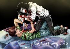 Jeff the killer and Liu