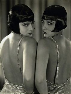 The Dolly Sisters. Fascinating story. They later became involved with department store founder Gordon Selfridge who pampered them with lavish gifts. #Gatsby #Selfridge