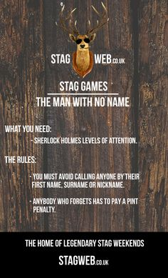 See more at www.stagweb.co.uk! #stagdo #stagweekend #stagparty #games