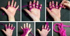 Оригинальный способ вязания для тех, кто не дружит со спицами — I Love Hobby — Лучшие мастер-классы со всего мира!
