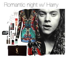 """""""romantic.set"""" by hsmklau ❤ liked on Polyvore featuring Balmain, Posh Girl, Yves Saint Laurent, Jules Smith and Rimmel"""