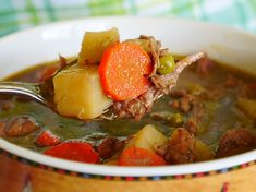 I'll give the recipe for this delicious stew in just a moment. But first, I want to say something:   I'm a grandma! Davona Ann Upshaw was born on February 12, just one day after my birthday. My oldest daughter, Danielle, actually went into labor on the evening of my birthday, but I think Davona was just being sassy ... Read More
